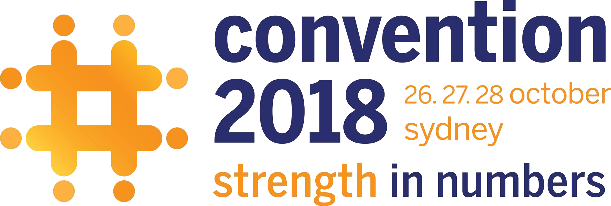 Convention 2018 Logo wide Transparent